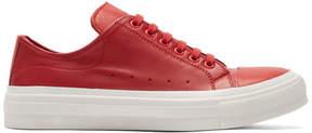 Alexander McQueen Red Cupsole Sneakers