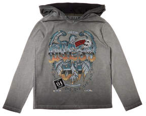 GUESS Lightweight Graphic Hoodie (7-18)