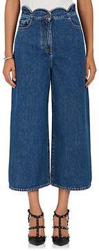 Valentino Women's Denim Culottes