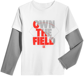 Champion Graphic-Print Shirt, Little Boys (4-7)