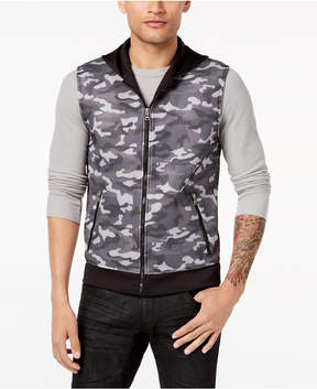 INC International Concepts I.n.c. Men's Camo-Print Vest, Created for Macy's