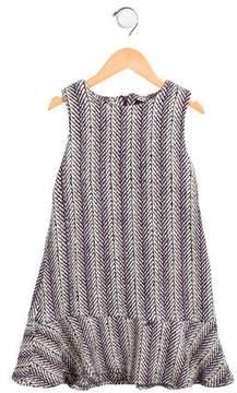 Imoga Girls' Penelope Herringbone Dress