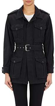 Saint Laurent Women's Belted Military Jacket