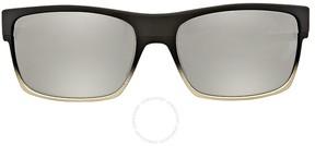 Oakley Twoface Matte Black Chrome Iridium Sunglasses