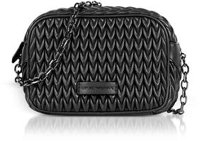 Emporio Armani Quilted Eco-leather Shoulder Bag