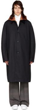 Acne Studios Navy Midnight Coat