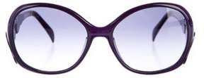 Emilio Pucci Oversize Tinted Sunglasses w/ Tags