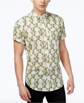 Ezekiel Men's Bali Floral-Print Cotton Shirt