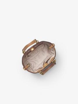 MICHAEL Michael Kors Brooklyn Small Logo Satchel