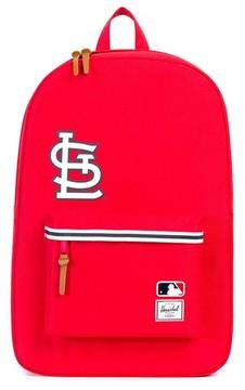 Herschel Men's Heritage St. Louis Cardinals Backpack - Red