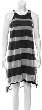 Band Of Outsiders Striped Knit Dress
