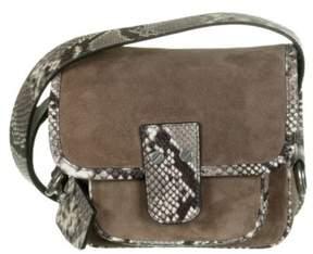 Michael Kors Hewitt Medium Suede Dark Dune Crossbody Handbag - ONE COLOR - STYLE