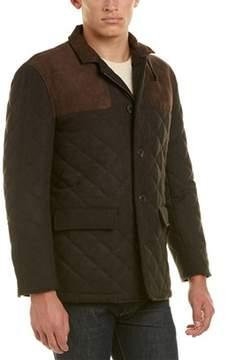 Hart Schaffner Marx Shooter Quilted Wool-blend Coat.