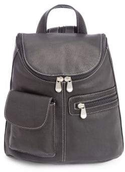 Royce New York Leather Tablet Backpack