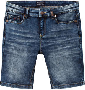 Mayoral Dark Wash Denim Shorts