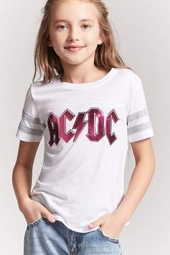 Forever 21 Girls ACDC Graphic Tee (Kids)