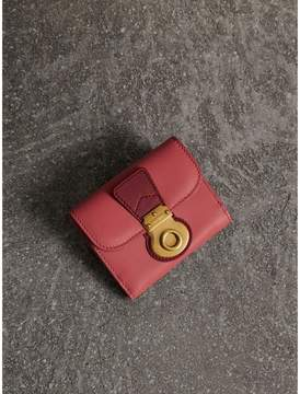 Burberry Two-tone Trench Leather Wallet