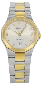 Concord Mariner 0311395 Two-Tone Stainless Steel Quartz 26mm Womens Watch