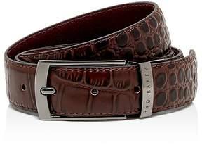 Ted Baker Sunflow Leather Reversible Belt