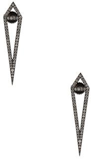 Eva Fehren Dagger Studs in Metallics.