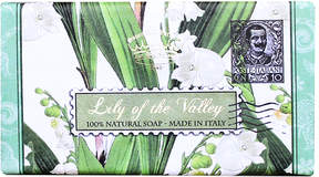 Smallflower Lily of the Valley Soap by Saponificio Varesino (300g Bar)