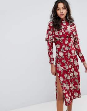 Flynn Skye Floral Midi Dress