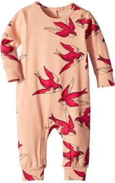 Mini Rodini Swallows Jumpsuit Girl's Jumpsuit & Rompers One Piece