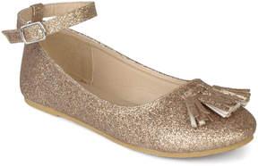 Journee Collection Gold Bardot Ballet Flat