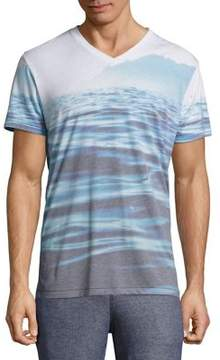 Sol Angeles Mirage Waters V-Neck Tee