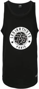Les (Art)ists logo patch tank top