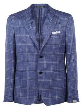 Cantarelli Men's 1182325821302 Blue Wool Blazer.