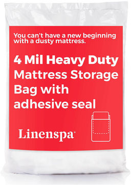 Asstd National Brand Linenspa Heavyweight 4 Mil Mattress Bag