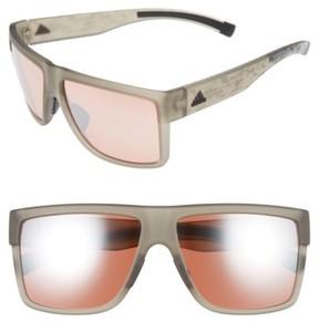 adidas Women's 3Matic 60Mm Sunglasses - Grey Camo Print/ Taupe