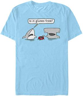 Fifth Sun Light Blue 'Is It Gluten Free' Tee - Men