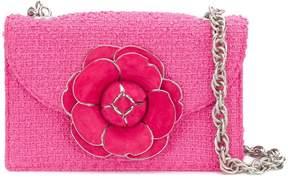 Oscar de la Renta flower chain strap shoulder bag