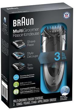 Braun Wet & Dry Multi Groomer MG5090 Silver