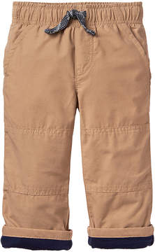 Gymboree Tan Lined Gymster Pants - Infant