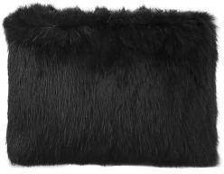 Adrianna Papell Rabbit Fur Clutch Bag