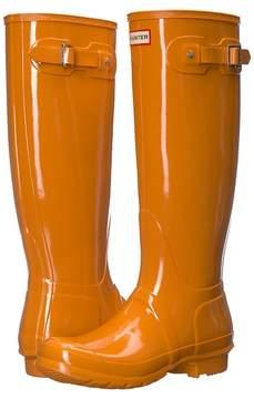 Hunter Original Tall Gloss Rain Boots Women's Rain Boots