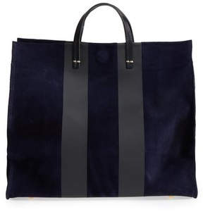 Clare Vivier Simple Leather Tote - Blue