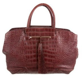 Brian Atwood Embossed Grace Bag