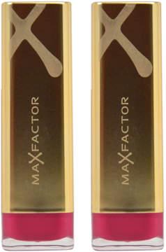 Max Factor Pomegranate Colour Elixir Lipstick - Set of Two