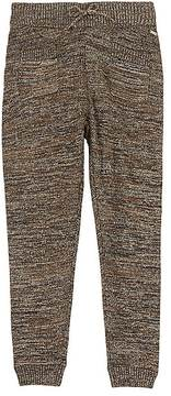 Scotch R'Belle METALLIC COTTON-BLEND PANTS