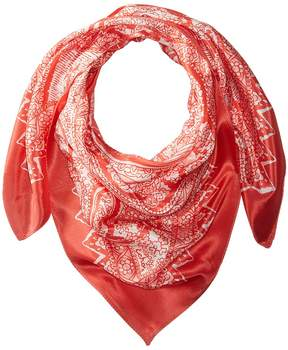 Echo Brisband Paisley Silk Square Scarf Scarves