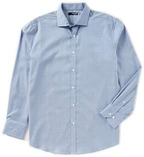 Murano Liquid Luxury Long Sleeve Spread Collar Chess Shirt