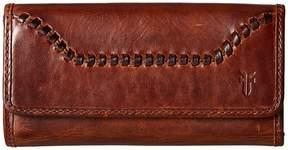 Frye Melissa Whipstitch Wallet Wallet Handbags