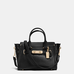 COACH Coach Swagger Carryall 27 In Pebble Leather