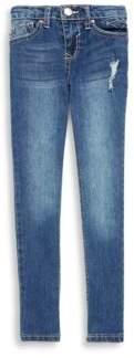 Vigoss Little Girl's Cute Dogs Jeans