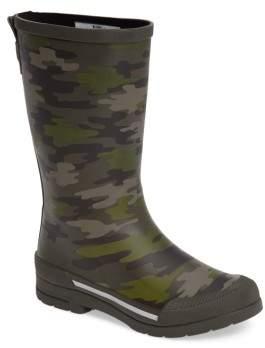 Western Chief Toddler Boy's Classic Ex Camo Waterproof Rain Boot