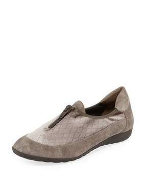 Sesto Meucci Besie Quilted Comfort Flat, Taupe